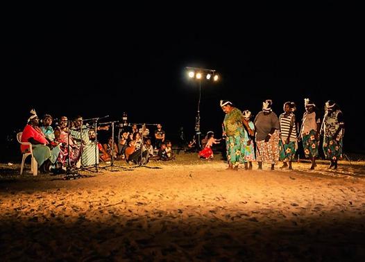Indigenous Traditional Dance Project, (2015) Artback NT, Borroloola, Northern  Territory, Photo: Benjamin Warrlingundu Ellis Bayliss
