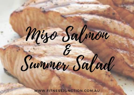 Miso Salmon & Simple Salad