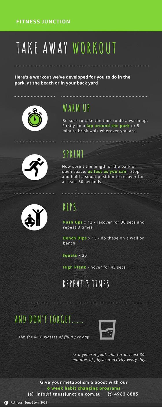 Take Away Workout