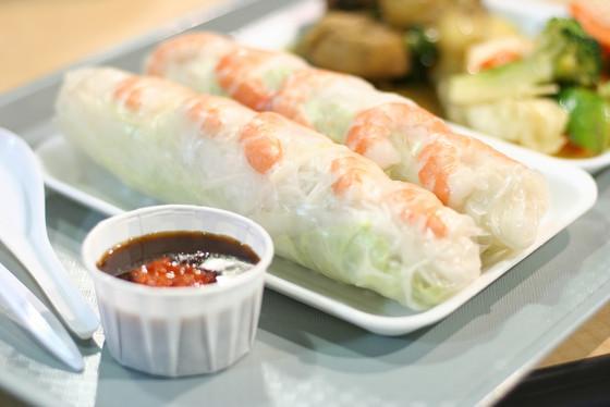 Prawn & Mango Rice Paper Rolls