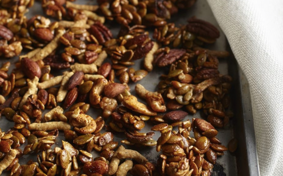 Roasted Spicy Seeds & Nuts