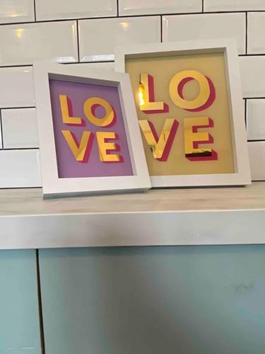 love art sign