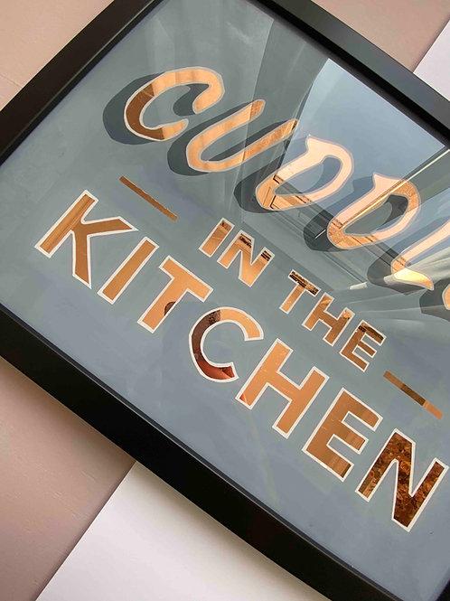 Cuddles in the Kitchen