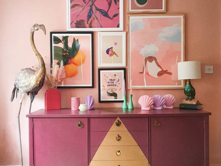 Home decor inspo - the best Instagram home accounts to follow for epic wall art and gallery walls