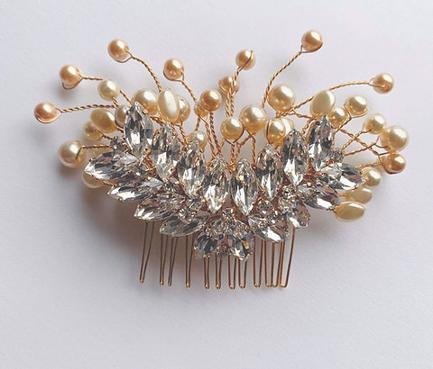 The GENEVIEVE Hair Comb