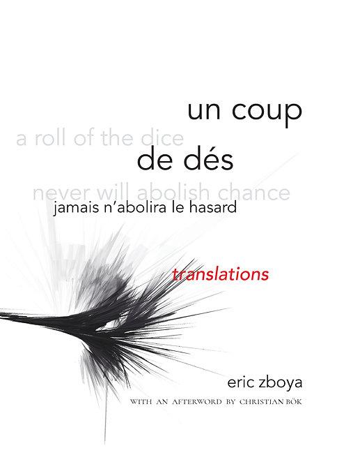 un coup de dés jamais n'abolira le hasard: translations