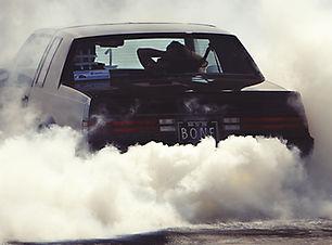 Auto nel fumo