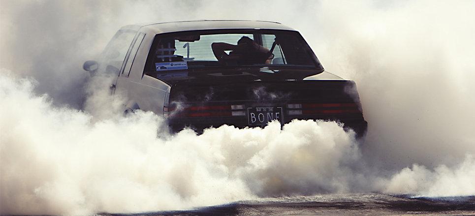 Car in the Smoke