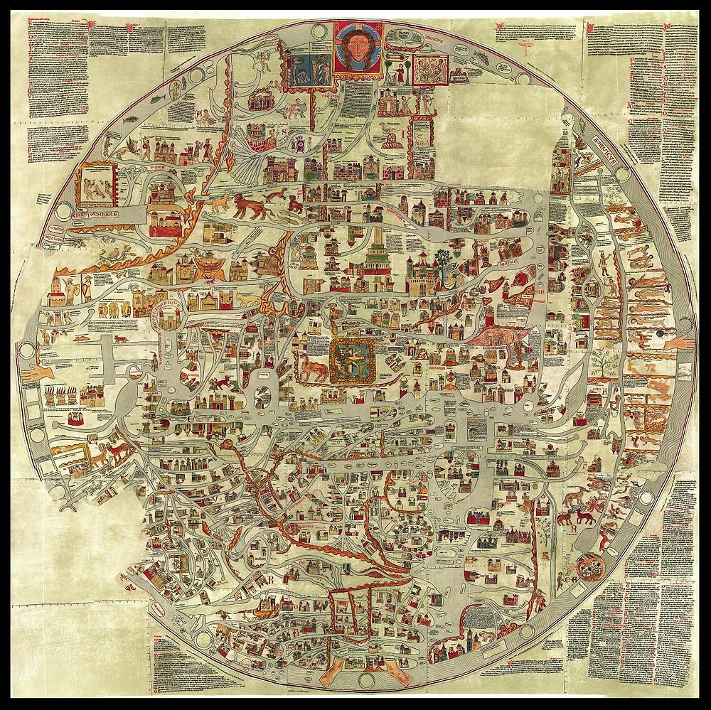 Die Ebstorfer Weltkarte von ~1300