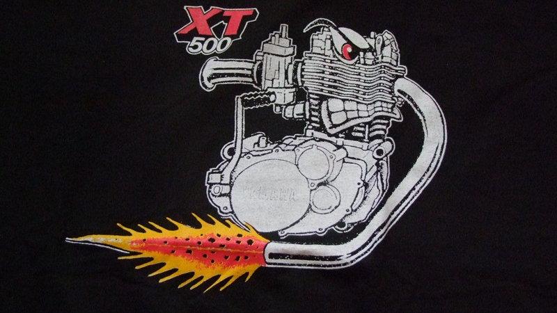 """T-Shirt """"XT500-Power"""""""