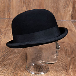 1921 Bowler Hat black