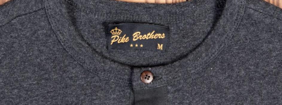 Pike 1927 Henley Shirt long sleeve iron