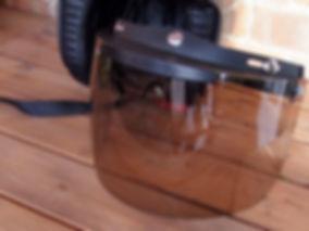 visor flip smoke