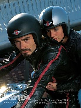 davida speedster Motorradhelm Sozius Beifahrer
