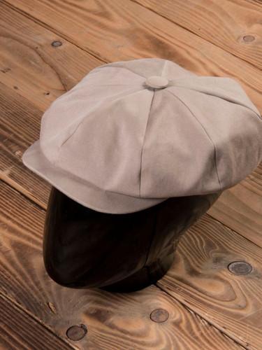 1928 Newsboy Cap cav. twill khaki.jpg