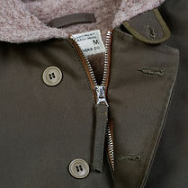 Deck Jacket zipper