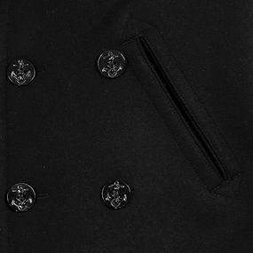 Pea Coat Button