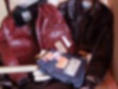 Verschiedene Aero Leather Jacken