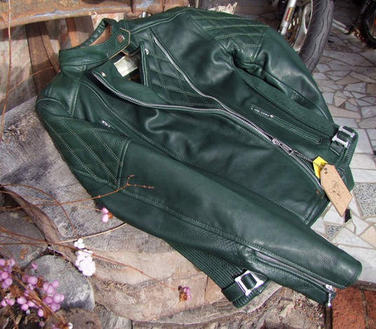 Ladies Bobber Style Jacket green_04
