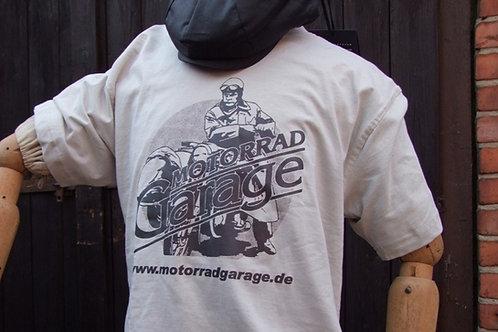 """T-Shirt """"Motorrad Garage"""""""