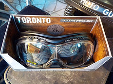 Motorradbrille Toronto für Brillenträger
