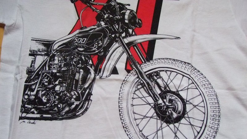 "T-Shirt ""XT500-Krad"""