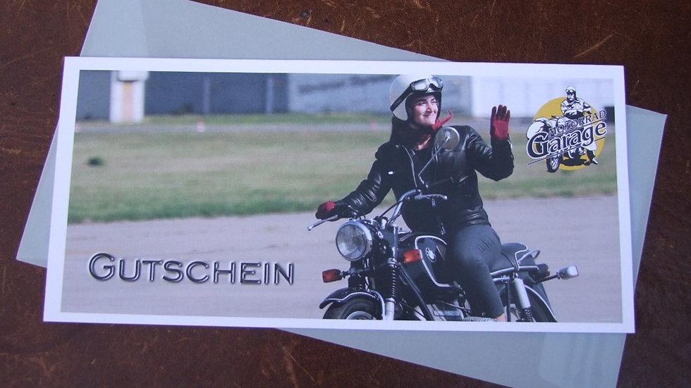 Geschenk-Gutschein BMW, Ölfinger oder Peugeot