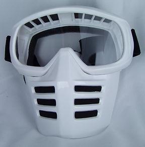 Off-Road-Mask von 70s auf Dirties Motorradhelm Solo