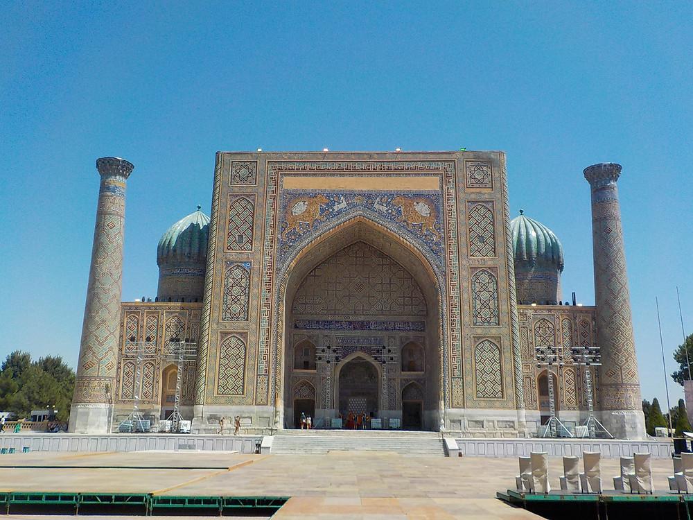 Sher-Dor-Madrasa in Samarkand