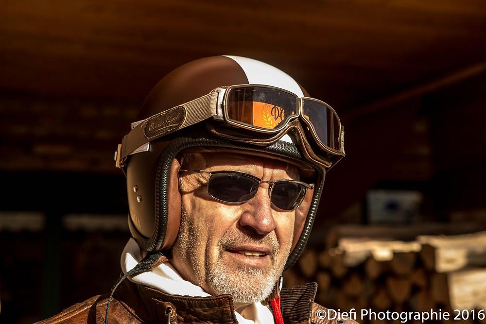 Davida 2015 Distinguished Gentlemen's Ride Event Helmet