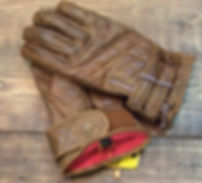 Goldtop The Quilted Cafe Racer Gloves