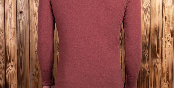 Pike 1927 Henley Shirt long sleeve grana