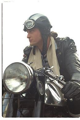 Davida Classic, ein klassischer Moorradhelm