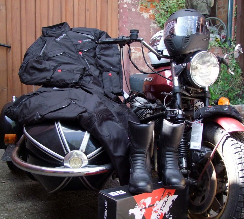 Günstige Motorradbekleidung für Anfänger