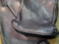 vanson Motorradhandschuh bronco hirschleder mit Futter