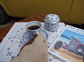 Cabriohandschuhe von Sauso Leder/Strick
