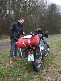 belstaff classic TT bei Rast mi Motorrad