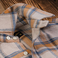 flanell shirt collar