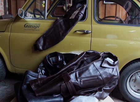 Lieferungen aus England - neue Jacken von Aero Leathers