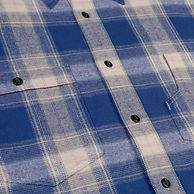 flanell shirt blue