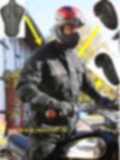 SunStuff Sixdays Pro Motorradjacke