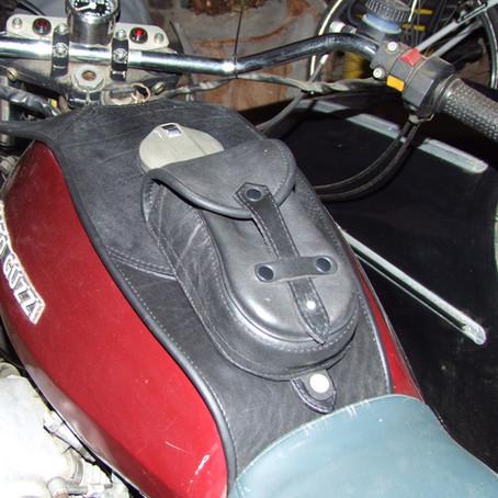 Leder-Tankcover für Motorräder