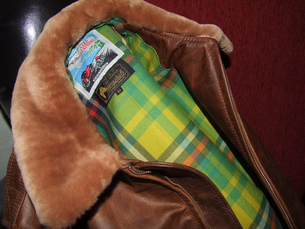 Die fertige Aero Leather-Jacke