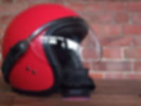 Speedster Motorradhelm mit Motorradvisier