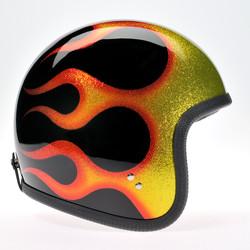 90753 osmic Flake Black Orange Flame