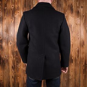 Pea Coat back