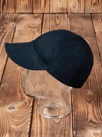 Pike Brothers 1944 A3 Cap 13oz pitch black denim