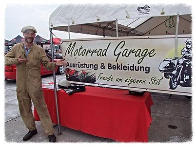 Motorrad Garage auf der Veterama