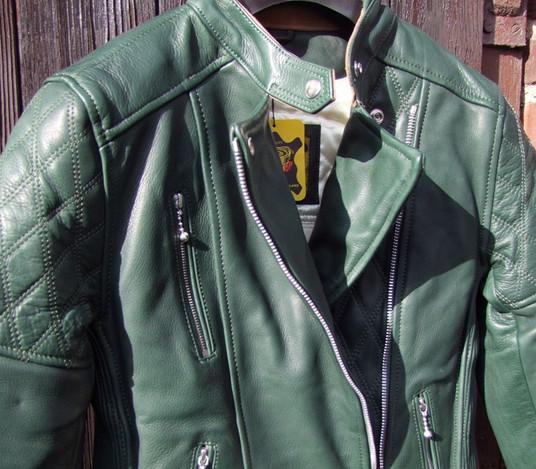 Ladies Bobber Style Jacket green_01