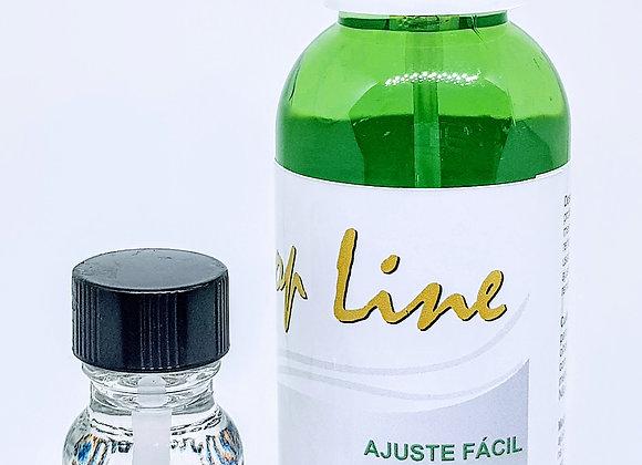 Kit {Retoque} contem 1 ajuste fácil+Cola Davlyn 15ml
